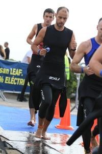Transición 1 - Garmin Barcelona Triathlon 2012