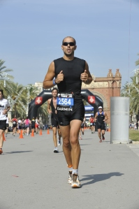 Running - Garmin Barcelona Triathlon 2012